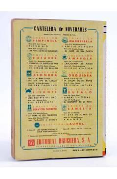 Contracubierta de COLECCIÓN CAMELIA 58. NI UNA SOLA MUJER (Luís Masota) Bruguera Bolsilibros 1954