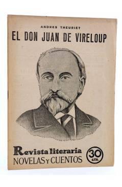 Cubierta de REVISTA LITERARIA NOVELAS Y CUENTOS 182. EL DON JUAN DE VIRELOUP (Andres Theuriet) Dédalo 1932