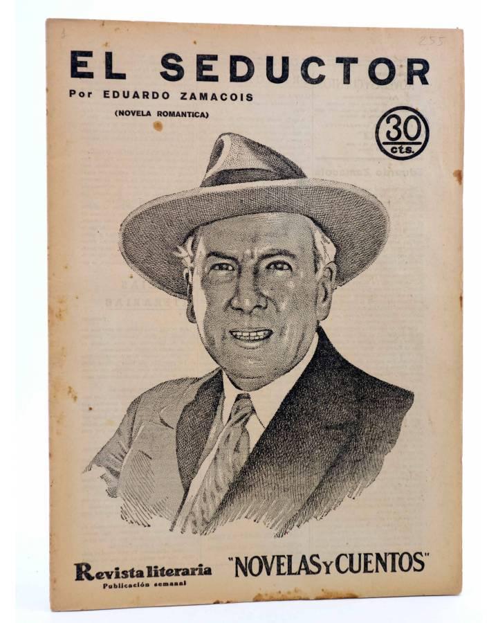 Cubierta de REVISTA LITERARIA NOVELAS Y CUENTOS 255. EL SEDUCTOR (Eduardo Zamacois) Dédalo 1933