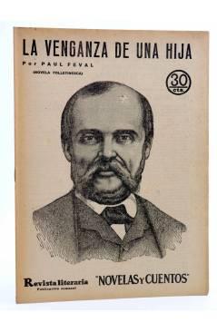 Cubierta de REVISTA LITERARIA NOVELAS Y CUENTOS 260. LA VENGANZA DE UNA HIJA (Paul Feval) Dédalo 1933