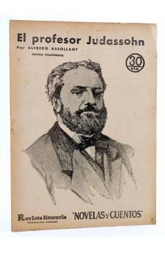 Cubierta de REVISTA LITERARIA NOVELAS Y CUENTOS 284. EL PROFESOR JUDASSOHN (Alfredo Assollant) Dédalo 1934
