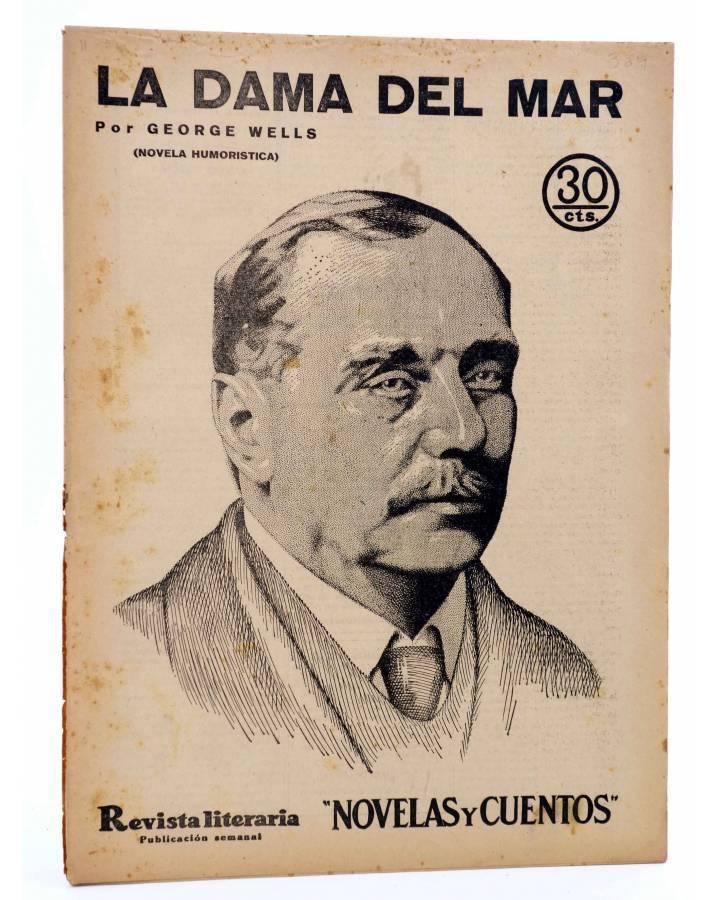 Cubierta de REVISTA LITERARIA NOVELAS Y CUENTOS 364. LA DAMA DEL MAR (Herbert George Wells) Dédalo 1935