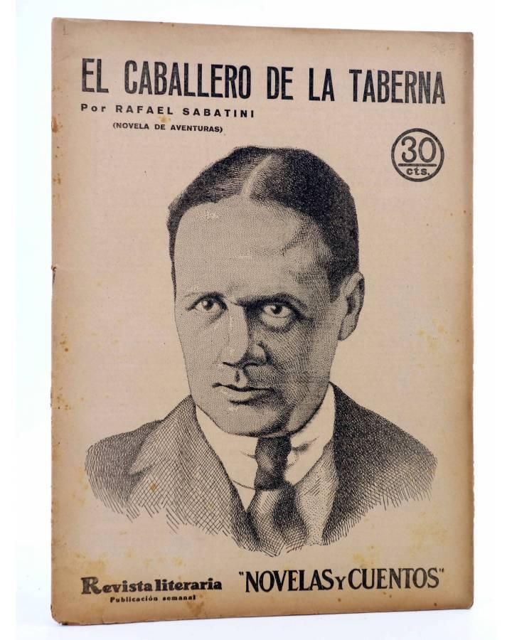 Cubierta de REVISTA LITERARIA NOVELAS Y CUENTOS 367. EL CABALLERO DE LA TABERNA (Rafael Sabatini) Dédalo 1936