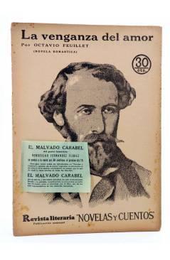 Cubierta de REVISTA LITERARIA NOVELAS Y CUENTOS 373. LA VENGANZA DEL AMOR (Octavio Feuillet) Dédalo 1936