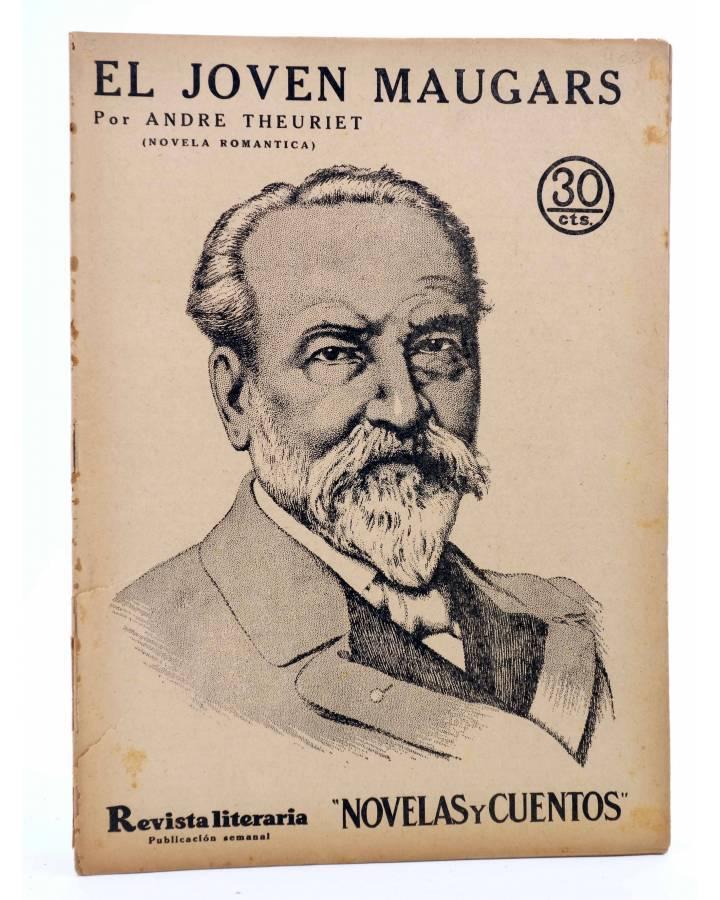 Cubierta de REVISTA LITERARIA NOVELAS Y CUENTOS 403. EL JOVEN MAUGARS (André Theuriet) Dédalo 1936