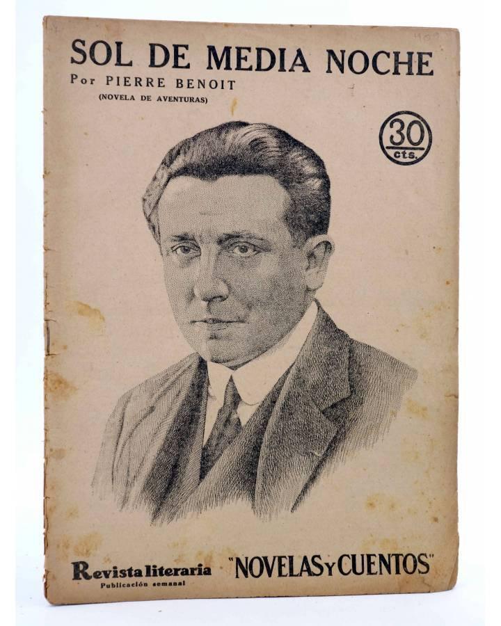 Cubierta de REVISTA LITERARIA NOVELAS Y CUENTOS 409. SOL DE MEDIA NOCHE (Pierre Benoit) Dédalo 1936