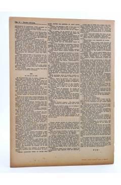 Contracubierta de REVISTA LITERARIA NOVELAS Y CUENTOS s/n. UN FILÓSOFO EN UNA GUARDILLA (E. Souvestre) Dédalo 1944