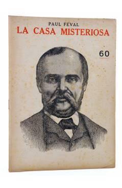 Cubierta de REVISTA LITERARIA NOVELAS Y CUENTOS s/n. LA CASA MISTERIOSA (Paul Feval) Dédalo Circa 1940
