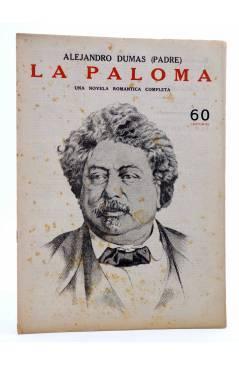 Cubierta de REVISTA LITERARIA NOVELAS Y CUENTOS s/n. LA PALOMA (Alejandro Dumas (Padre)) Dédalo Circa 1940