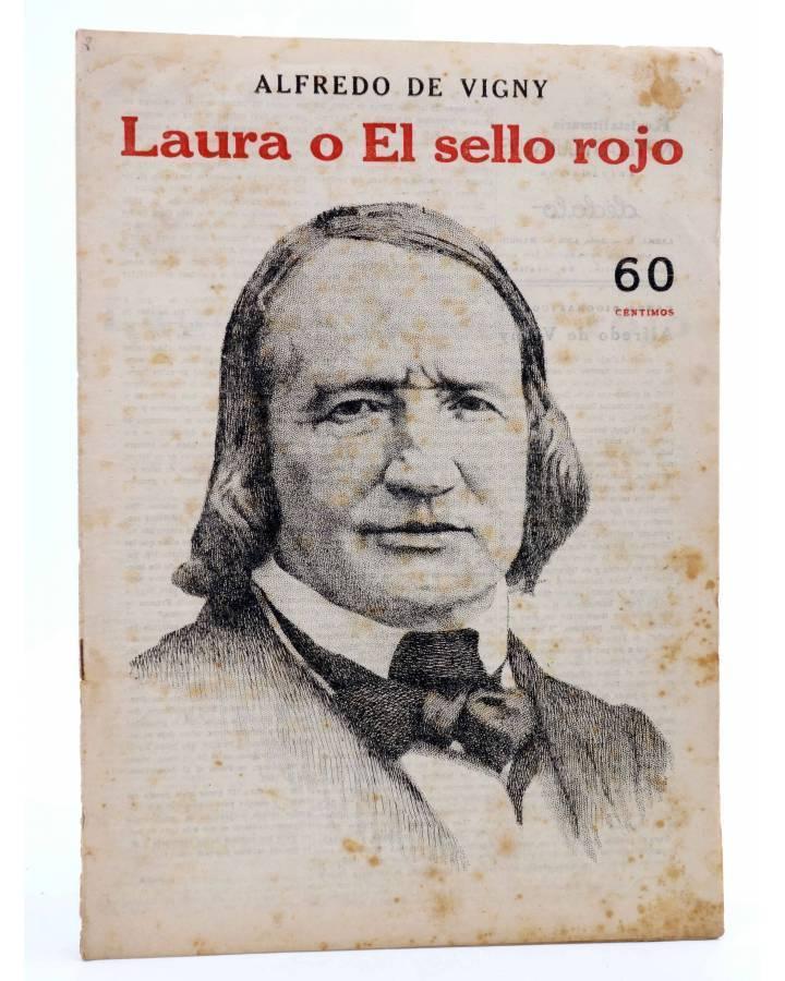 Cubierta de REVISTA LITERARIA NOVELAS Y CUENTOS s/n. LAURA O EL SELLO ROJO (Alfredo De Vigny) Dédalo Circa 1940