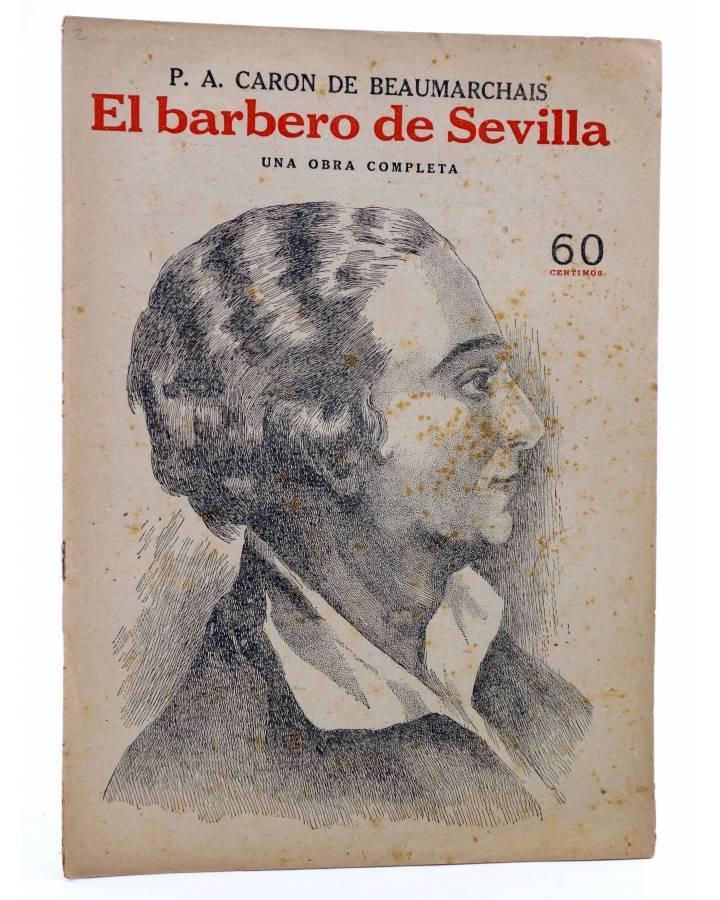 Cubierta de REVISTA LITERARIA NOVELAS Y CUENTOS s/n. EL BARBERO DE SEVILLA (Beaumarchais) Dédalo Circa 1940