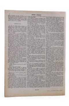 Contracubierta de REVISTA LITERARIA NOVELAS Y CUENTOS. PERO SE CASAN CON LAS MORENAS (Anita Loos) Dédalo Circa 1940