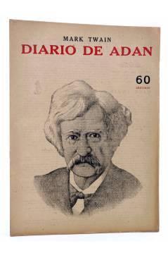 Cubierta de REVISTA LITERARIA NOVELAS Y CUENTOS s/n. DIARIO DE ADÁN (Mark Twain) Dédalo Circa 1940