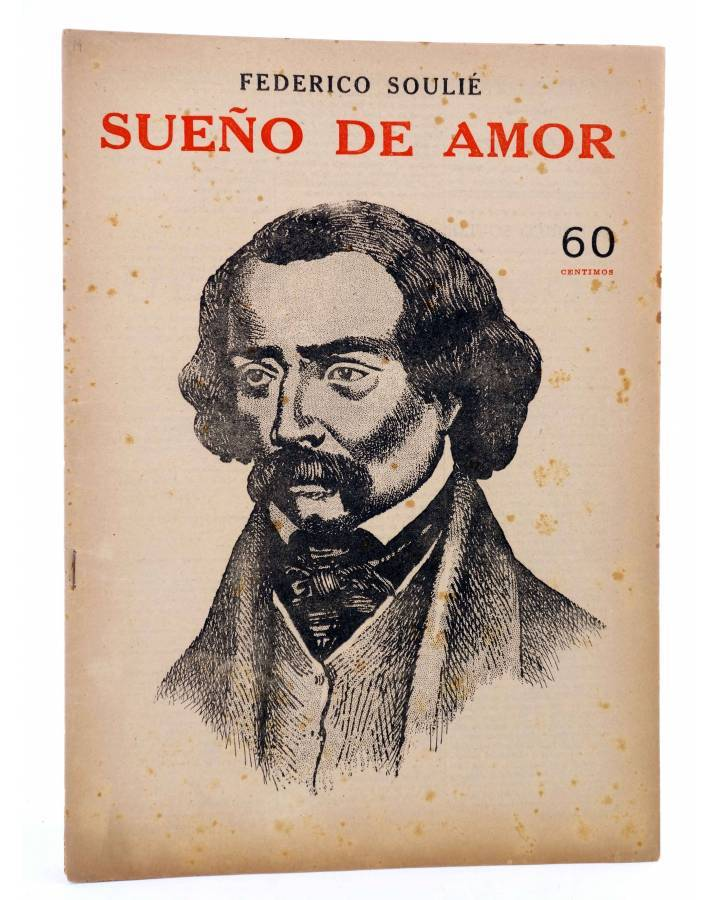 Cubierta de REVISTA LITERARIA NOVELAS Y CUENTOS s/n. SUEÑO DE AMOR (Federico Soulié) Dédalo Circa 1940