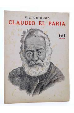 Cubierta de REVISTA LITERARIA NOVELAS Y CUENTOS s/n. CLAUDIO EL PARIA (Victor Hugo) Dédalo Circa 1940
