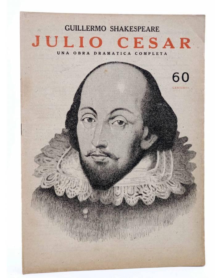 Cubierta de REVISTA LITERARIA NOVELAS Y CUENTOS s/n. JULIO CÉSAR (Shakespeare) Dédalo Circa 1940