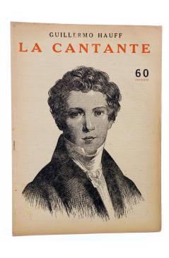 Cubierta de REVISTA LITERARIA NOVELAS Y CUENTOS s/n. LA CANTANTE (Guillermo Hauff) Dédalo Circa 1940
