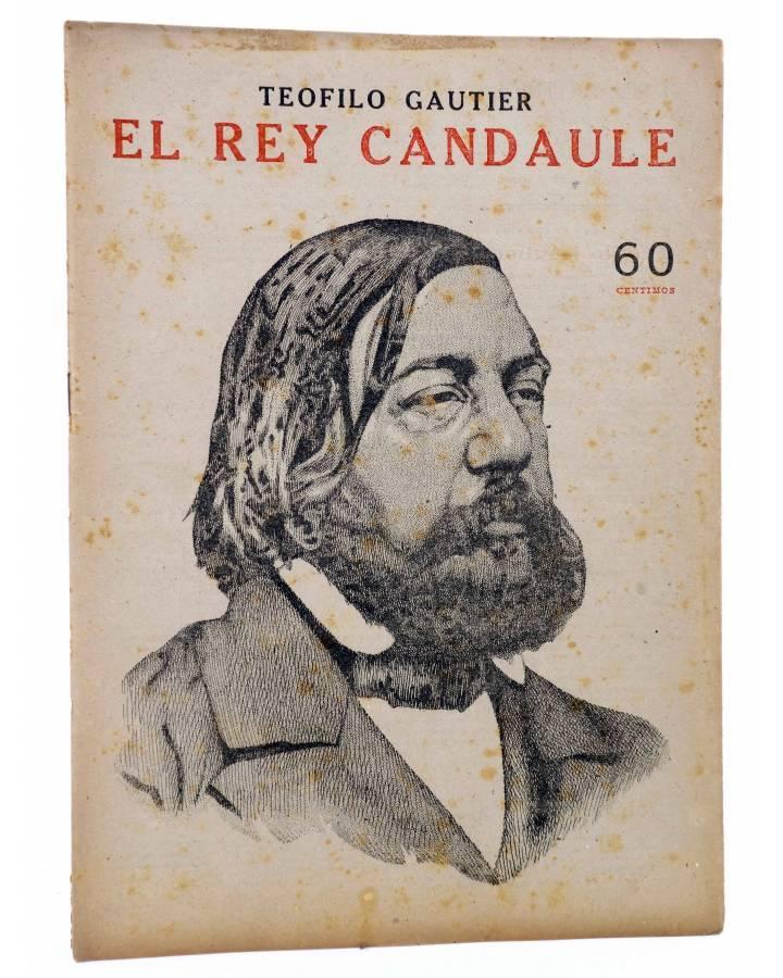 Cubierta de REVISTA LITERARIA NOVELAS Y CUENTOS s/n. EL REY CANDAULE (Teofilo Gautier) Dédalo Circa 1940