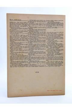 Contracubierta de REVISTA LITERARIA NOVELAS Y CUENTOS. EL AHORCADO DE SAINT PHOLIEN (Jorge Simenon) Dédalo Circa 1940