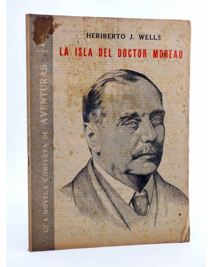 Cubierta de REVISTA LITERARIA NOVELAS Y CUENTOS s/n. LA ISLA DEL DOCTOR MOREAU (H.G. Wells) Dédalo Circa 1940