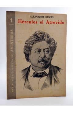 Cubierta de REVISTA LITERARIA NOVELAS Y CUENTOS s/n. HÉRCULES EL ATREVIDO (Alejandro Dumas) Dédalo Circa 1940