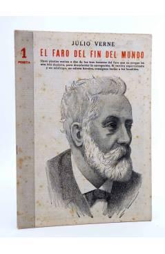 Cubierta de REVISTA LITERARIA NOVELAS Y CUENTOS 712. EL FARO DEL FIN DEL MUNDO (Julio Verne) Dédalo 1944