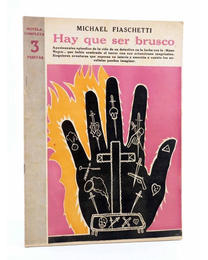Cubierta de REVISTA LITERARIA NOVELAS Y CUENTOS 737. HAY QUE SER BRUSCO (Michael Fiaschetti) Dédalo 1945