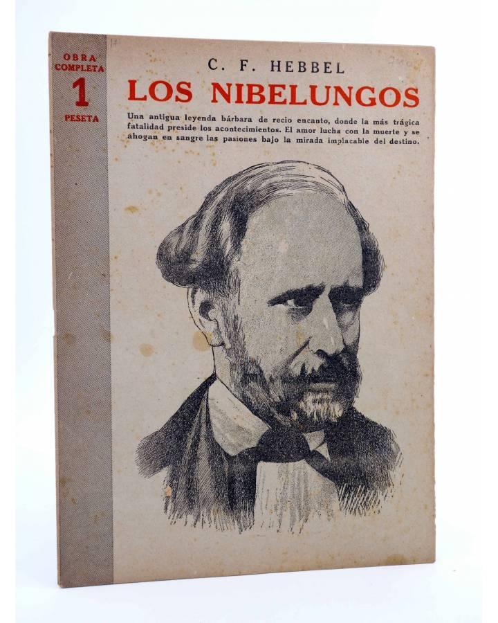 Cubierta de REVISTA LITERARIA NOVELAS Y CUENTOS 740. LOS NIBELUNGOS (C. F. Hebbel) Dédalo 1945