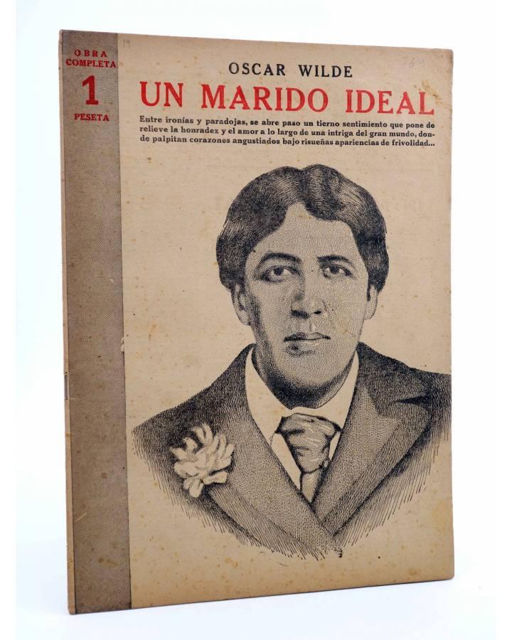 Cubierta de REVISTA LITERARIA NOVELAS Y CUENTOS 764. UN MARIDO IDEAL (Oscar Wilde) Dédalo 1945