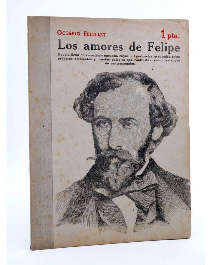 Cubierta de REVISTA LITERARIA NOVELAS Y CUENTOS 796. LOS AMORES DE FELIPE (Octavio Feuillet) Dédalo 1946