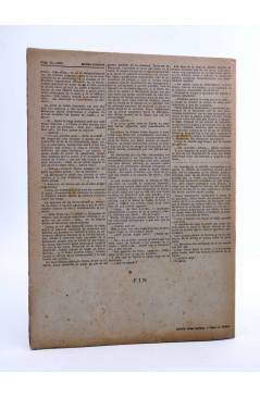 Contracubierta de REVISTA LITERARIA NOVELAS Y CUENTOS 796. LOS AMORES DE FELIPE (Octavio Feuillet) Dédalo 1946