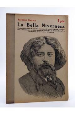 Cubierta de REVISTA LITERARIA NOVELAS Y CUENTOS 826. LA BELLA NIVERNESA (Alfonso Daudet) Dédalo 1947