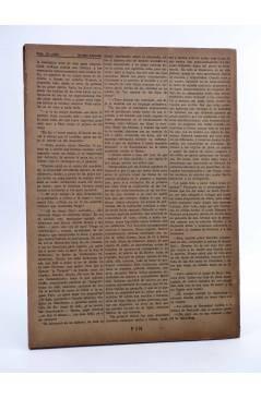 Contracubierta de REVISTA LITERARIA NOVELAS Y CUENTOS 838. EL AVARO (Honorato De Balzac) Dédalo 1947