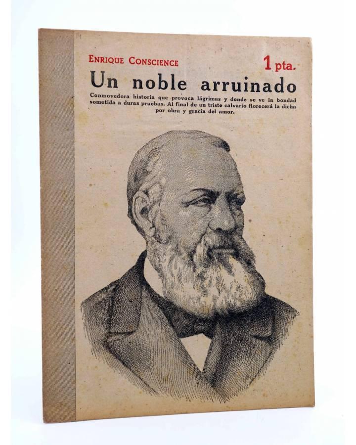 Cubierta de REVISTA LITERARIA NOVELAS Y CUENTOS 844. UN NOBLE ARRUINADO (Enrique Conscience) Dédalo 1947