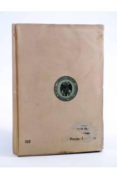 Contracubierta de BIBLIOTECA DEL TÉCNICO EN CUNICULTURA TOMO 1º. GENERALIDADES Y PRINCIPIOS (Emilio Ayala Martín) 1944