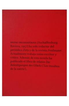 Muestra 1 de EL ÚLTIMO CIGARRILLO (Bruno Preisendörfer) 451 Editores 2008