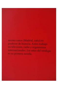 Muestra 1 de LOS AÑOS DEL VERDUGO (Mauro Eiroa) 451 Editores 2009