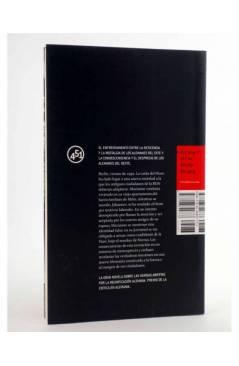 Contracubierta de BAJO EL NOMBRE DE NORMA (Brigitte Burmeister) 451 Editores 2009