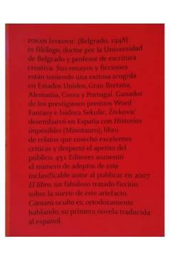 Muestra 1 de CÁMARA OCULTA (Zoran Zivkovic) 451 Editores 2009