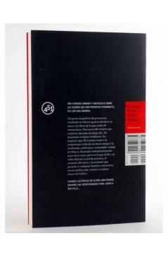 Contracubierta de LA CAMISA (Yevgueni Grishkovets) 451 Editores 2007