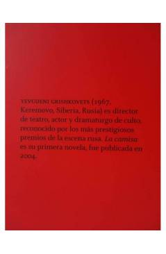 Muestra 1 de LA CAMISA (Yevgueni Grishkovets) 451 Editores 2007