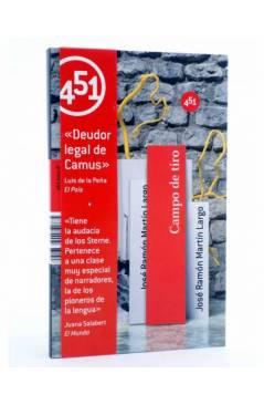 Cubierta de CAMPO DE TIRO (José María Martín Largo) 451 Editores 2009