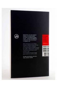Contracubierta de CORAZÓN DE TANGO (Elia Barceló) 451 Editores 2007