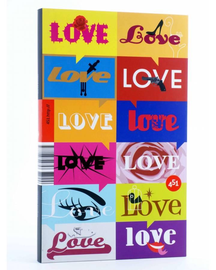 Cubierta de EN EL FONDO - LOVE (Begoña Huertas) 451 Editores 2009