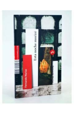 Cubierta de ESTA NOCHE MORIRÉ (Fernando Marías) 451 Editores 2008