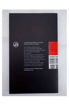 Contracubierta de ESTA NOCHE MORIRÉ (Fernando Marías) 451 Editores 2008