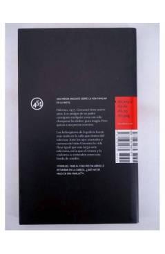 Contracubierta de HIJO DE CRISTAL (Giacomo Cacciatore) 451 Editores 2008