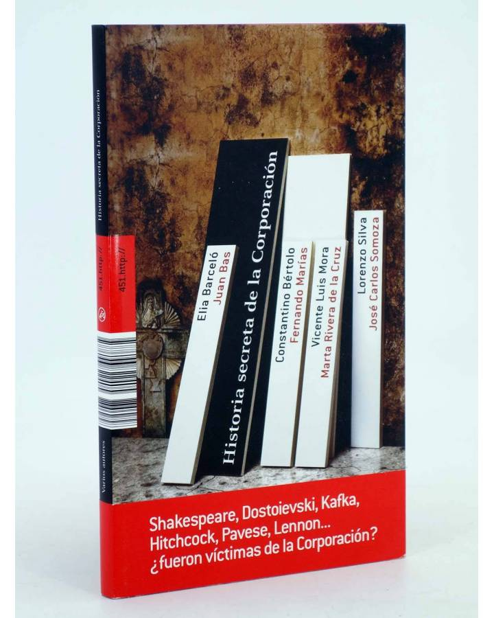Cubierta de HISTORIA SECRETA DE LA CORPORACIÓN (Vv.Aa.) 451 Editores 2008