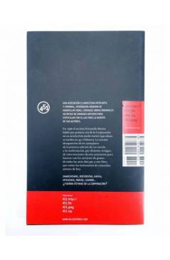 Contracubierta de HISTORIA SECRETA DE LA CORPORACIÓN (Vv.Aa.) 451 Editores 2008