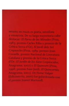 Muestra 1 de UN HOMBRE VULGAR (Miquel De Palol) 451 Editores 2009